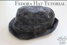 sewing kids: hats, headbands, mittens, etc.