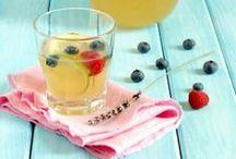 Recipe lemonade, herbal drinks&ice pops
