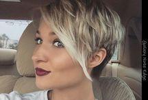 Short hair styles / Creative short hair styles