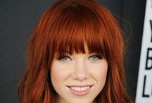 Red hair / Red hair, bright, copper, golden, vibrant
