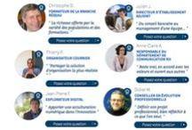 Témoignages de postiers / Des témoignages, des petites phrases, des questions et des réponses des postières et des postiers, au sein des 250 métiers du Groupe La Poste.
