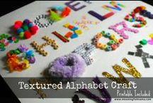 Get Ready for Kindergarten: Alphabet / Inspiration and ideas for Get Ready Ready for Kindergarten.