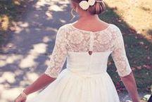 Chloe's Dress / Inspiration for Chloe's wedding dress.