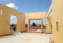 Edifici Sostenibili in legno/ Cross Laminated Timber / XLAM / Edifici Sostenibili Legno - Cross Laminated Timber - XLAM