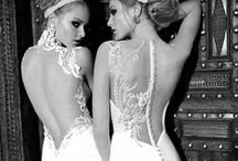 The back / These amazing wedding dress designs feature your back.