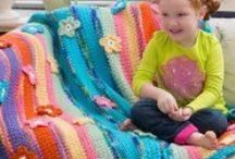 Afghans, Blankets & Granny Squares / by Maria Dimiourgia