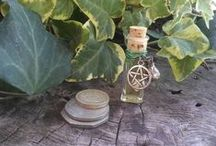 Ritual Oils & Incenses by Speaking of Witch Wands / Oil blends and incense blends for all Sabbats...if I have time.  My own blends, all rights reserved.