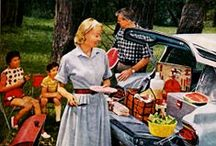 Camping 1950s Style / How we camped in the 1950s