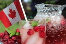 """Celebrate Canada / """"The True North strong and free! From far and wide, O Canada"""""""