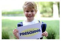 Back to School / There are so many cute ways to capture that first day back to school!