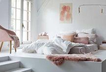 B E D R O O M / Ideetjes slaapkamer