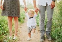 Dress It Up / Coordinating clothes for the whole family is a big task. Find inspiration for your next photo shoot!