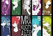 Mekakucity Actors ¤.¤