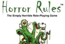 Horror Rules Roleplaying Game