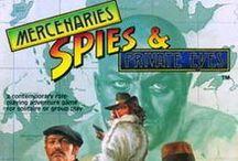 Old School RPG's Rock:Mercenaries, Spies & Private Eyes