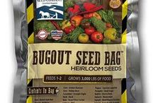 Survival Seed / Open pollinated, heirloom seed dried down to perfect conditions for long term storage.  Just like you would store emergency food supplies you should store seed for when that food runs out.   / by Sustainable Seed Co.