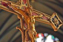 Preciosa fé católica / Formação e Espiritualidade. Imagens e frases dos santos.