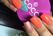 Acrilyc Design By COCO Nails Bar / Acrilyc nails with design, colors, stones or textures