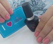Cuccio Gel and Laquer / Nails color by Cuccio