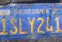 Give Me a Sign  / Old Signs, License Plates and Other works of art perfected by the passage of time.