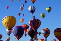 hot air balloons / by Cindy Hughes