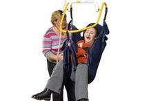 Moving & Handling / When it comes to moving and handling disabled children and adults it is essential to have the right equipment. Symmetrikit provide a wide range of moving and handling products from slings, poser spreaders and skyrames.