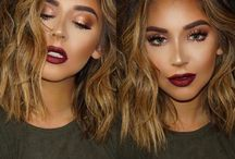 Hair nails & makeup<3 / Hair and make up