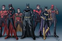 Batman Family / Batman,PennyOne,Nightwing.Batgirl,Batwoman,Red Hood,Red Robin,Robin,Black Bat,The Spoiler,Batman Beyond,Catwoman