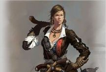Female Characters - SF
