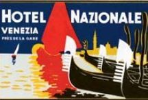 Ciao Bella Italy! Italian Travel Labels / Vintage travel labels that celebrate Bella Italia and its rich travel heritage