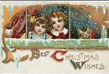 Children at Christmas / Vintage images of Children enjoying the holiday season