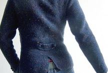 Grenser/jakke strikk