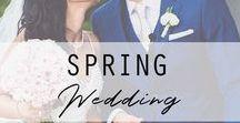 Spring Wedding / Spring wedding inspiration for the groom. Visit us here for more wedding ideas: https://www.thegroomsmansuit.com