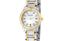 Bulova Women's Watches / Bulova introduced its first line of wristwatches in 1919.The company grew and prospered, and soon early radio and television ads were declaring,America runs on Bulova time.In the 1950s, continuing its legacy of innovation, Bulova introduced Accutron, the first electronic watch, and the first breakthrough in timekeeping technology in over 300 years. The Accutron timing mechanism was later adapted for use by NASA computers and a Bulova timer was even placed on the moon to control transmission data