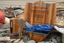 Ocean Shell trophies, medals and prizes / Trophies to order...  Need something really special? Unique designs and personalized Email Christine today christine@oceanshellnz.com  for a free no obligation quote and/or design ideas Enjoy the process - We make it easy and fun!  www.oceanshellnz.com