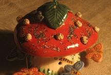 Porcelain bells | Колокольчики из фарфора