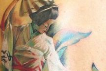 Tatoo Geisha / by Philippe-stephanie Almoguera