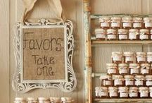 Wedding Favors / wedding favor ideas