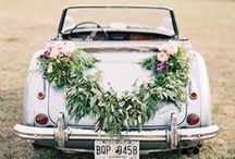 Getaway Car / wedding getaway car ideas