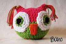 (͡๏̯͡๏)Búhos, cositas lindas!(͡๏̯͡๏) / Todo sobré Búhos - owls, manualidades, adornos etc