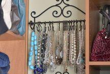 Organize jewelry / Ideas to organize your jewelry