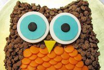 (͡๏̯͡๏)Búhos Tortas - Cakes