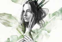 •BEAUTIFUL • DRAWINGS• / For if you need some drawing inspiration... / by Lisanne
