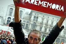 VIDRA for FAREMEMORIA / Giovanni Rubino   Farememoria  Giovanni Rubino dal 2005 porta avanti a Milano e altrove un sistematico lavoro sulla memoria: va a ricalcare con un foglio di carta e una matita e una scala le lapidi poste agli angoli delle strade. La sua azione (frottage) è documentata da famosi fotografi – le cui opere sono qui esposte – che hanno sentito il richiamo a partecipare a questa moderna e democratica ricerca.   AL PHOTOFESTIVAL 2014 (Milano, 28 aprile - 16 giugno)  www.photofestival.it