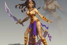 Char_Warrior_Females