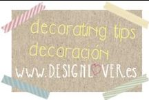 Decorating tips lover - Decoración / Decoración de interiores. Interior decorating. Eventos y bodas. Events and weddings. Elementos decorativos. Decorative elements. / by Design Lover