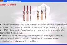 SG Cricket Bats