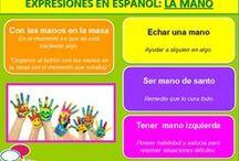 EXPRESIONES EN ESPAÑOL / Aquí podrás aprender un gran número de expresiones que usamos en español.