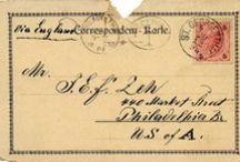 Printables Postmarks & Stamps