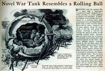 Back to the Drawing Board / A collection of pins from features that appeared in Military History Monthly magazine, covering disastrous military inventions.